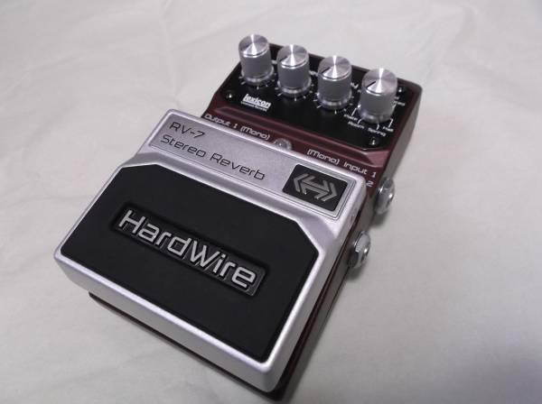 即決 Digitech Hardwire RV-7 リバーブ 中古