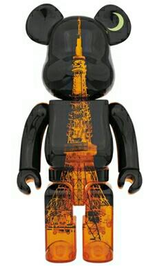 ベアブリック 東京タワー 55周年 400% 333体限定 メディコムトイ BE@RBRICK 未開封品_画像1