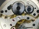 Elida 懐中時計 銀無垢 彫金ケース 懐中時計 ベゼルや吊輪の装飾が美麗