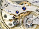 Zodiac 懐中時計 サファイアの軸受けが美しい 薄型ムーブ