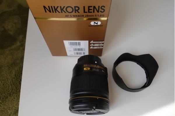 ニコン AF-S NIKKOR 28mm f/1.8G ナノクリ 中古