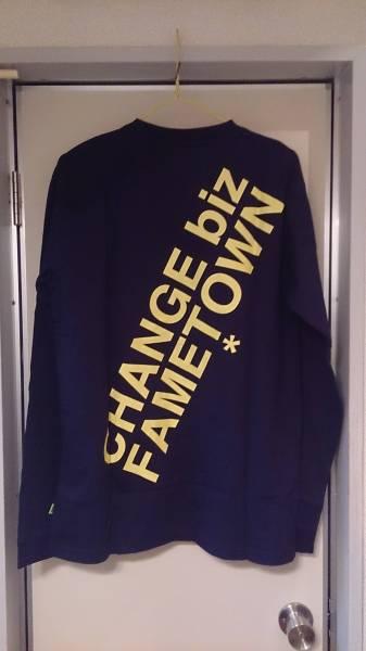 ヘビ柄 GROOVERGRAND グルーバーグランド Tシャツ 長袖 ネイビー 前後プリント XL・実測身幅約52.5cm※未使用品/商品タグ付き/2014年モデル