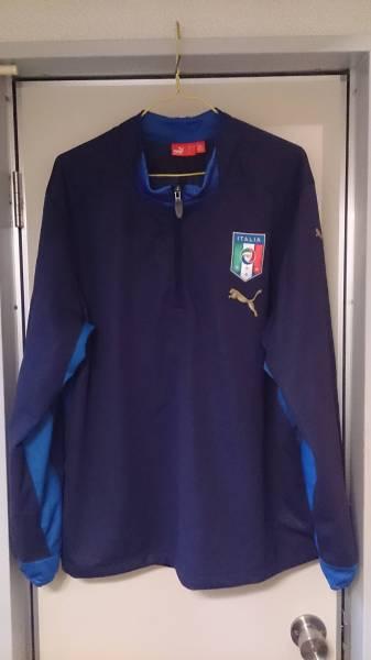 【中古品・フットボールウェア】PUMA イタリア代表 トラックトップ ピステ US Lサイズ