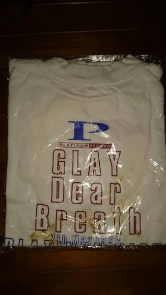 超希少 GLAY 1996年 5月7日 赤坂BLITZ PLIATINUMな夜 イベントTシャツ 新品未着用 外袋汚れ有