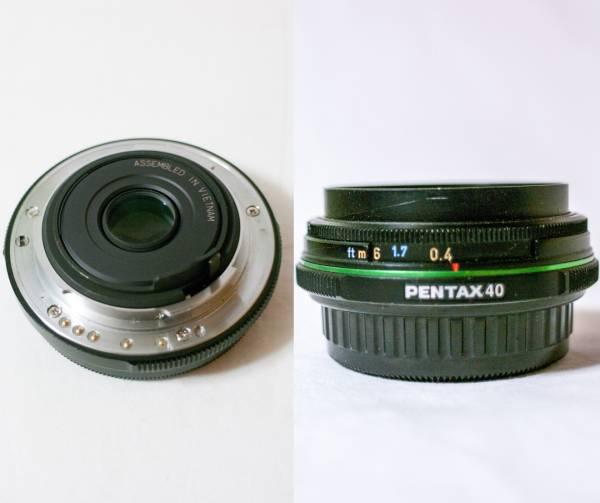 ◆ジャンク品◆smc PENTAX DA F2.8 40mm Limited■ペンタックス■付属品あり_画像2