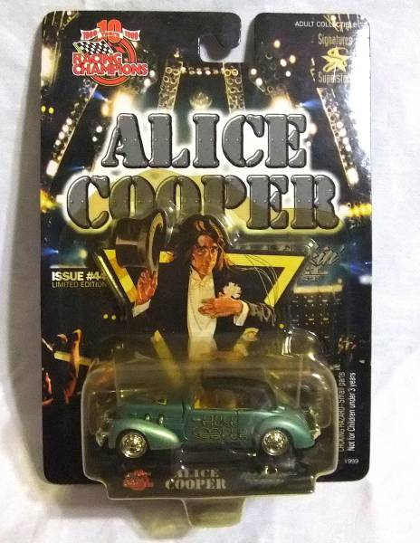 希少!【ミニカー】限定Hot Rockin' Steel/ALICE COOPER(Welcome To My Nightmare)/アリス・クーパー