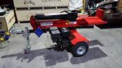 新品 420cc 15hp エンジン式 薪割り機 40t 組立済発送 税込み価格