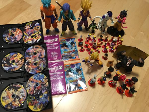 再値下げ ドラゴンボール フィギュア DVD 復活のF巻 ワーコレ コレクタブル MSP HG グッズの画像
