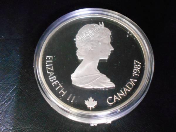 カナダ★カルガリーオリンピック★1988年★記念硬貨★20ドル銀貨★10枚セット★箱・説明書付き_画像2