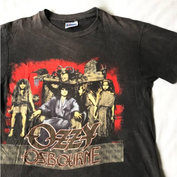 88年 Ozzy Osbourne Tシャツ HANES USA製 ビンテージ 80s 80年代 オジーオズボーン BLACK SABBATH ブラックサバス アメリカ製 メタル