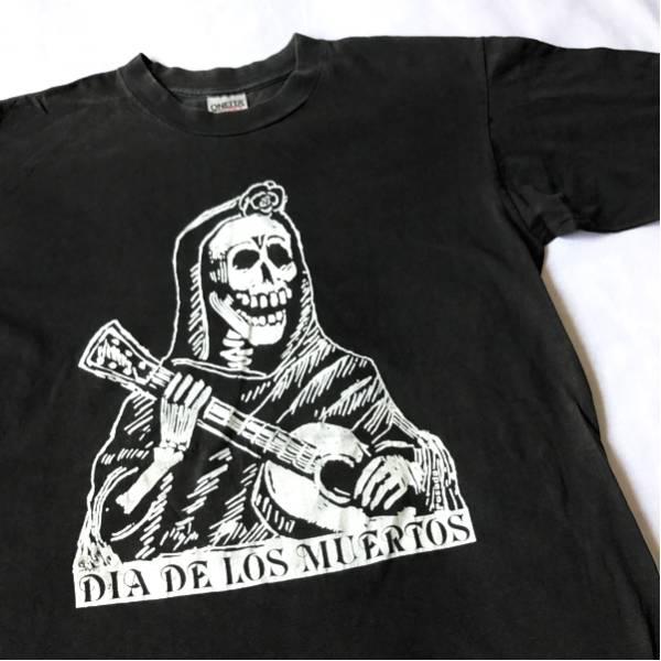 90s 死者の日 死神 Tシャツ ビンテージ メキシカン スカル AKIRA アキラ エッシャー GRATEFUL DEAD ダリ マリリンモンロー エッシャー 80s グッズの画像