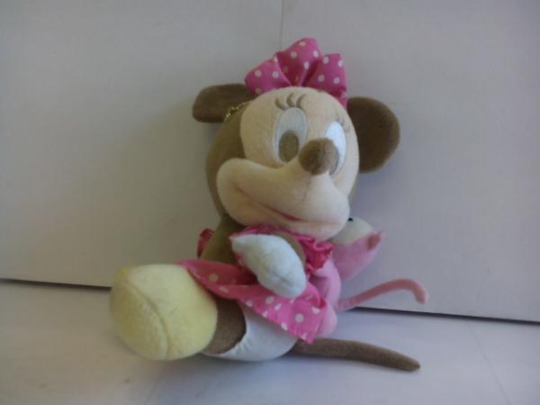 t976♪Disney baby ミニーマウス ぬいぐるみ ディズニーグッズの画像