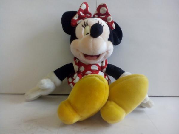 t1011♪Disney ミニーマウス ぬいぐるみ ディズニーグッズの画像