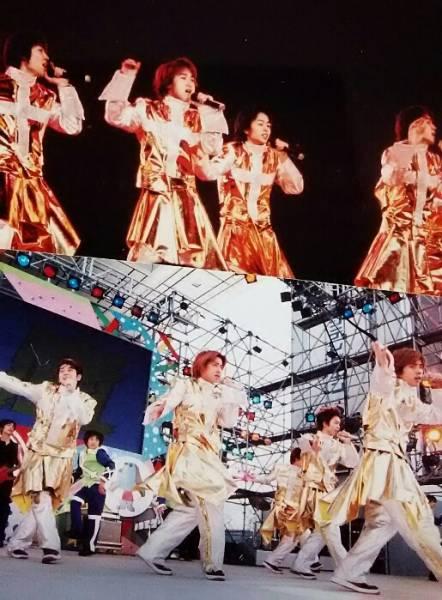 嵐 ★ ファーストコンサート&お台場 集合写真2枚 ★kodak mitsubishi