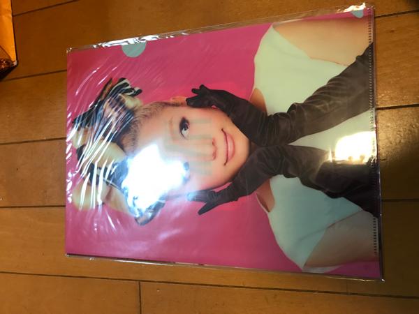 新品 クリアファイル 西野カナ Love Collection Tour Pink希少 ライブグッズの画像