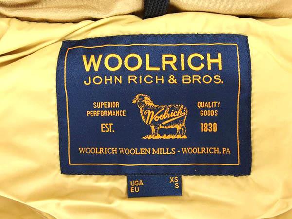 USED 美品 ウールリッチ アークティックパーカ ダウン ジャケット アウター SIZE XS ベージュ woolrich_画像2