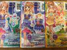 アイカツスターズ星のツバサ☆第1弾PRデイライトフェスティバル&Rアメジストオーシャン計3枚セット