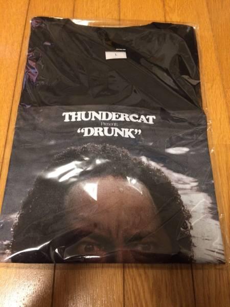 Thundercat サンダーキャット Tシャツ Lサイズ 黒 Flying Lotus フライングロータス ケンドリック ラマー Kendrick Lamar カマシワシントン