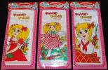 * rare! new goods! that time thing ....... candy * candy color . changes .... handkerchie each 1 sheets (3 pieces set )