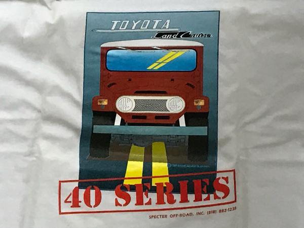 【激レア】ランドクルーザー40 Tシャツ_画像2