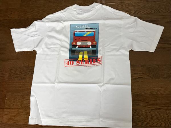 【激レア】ランドクルーザー40 Tシャツ_画像1
