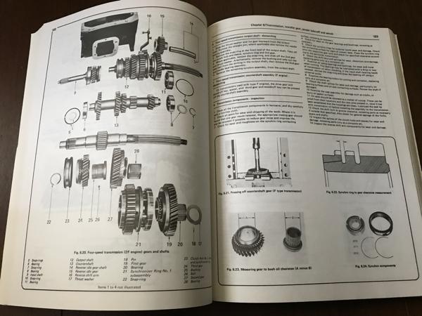【超希少】ランドクルーザー 40/50/60 洋書 Automotive Repair Manual 1968-1982_画像3