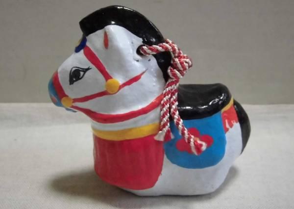 土鈴 午 盛岡 みのる民芸 馬 干支 土人形 伝統工芸品 郷土玩具 置物 人形_画像3