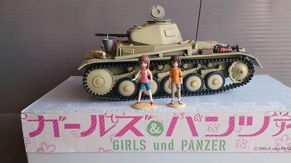 1/35 ガールズ&パンツァー 「あの夏のⅡ号戦車F型」 フィギュア完成品 グッズの画像