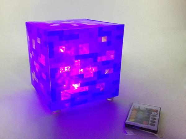 ☆MINECRAFT マインクラフト風 LED 16カラーイルミネーション リモコン付き 送料込み☆ グッズの画像