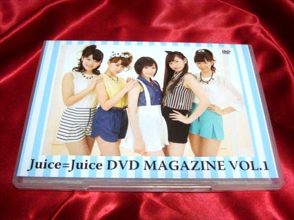 ★Juice=Juice DVD MAGAZINE VOL.1 ライブグッズの画像