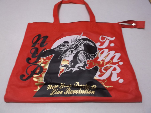 ▼ T.M.Revolution 西川貴教 ★ New Year Party 12 【 手提げバッグ 】 ライブグッズの画像