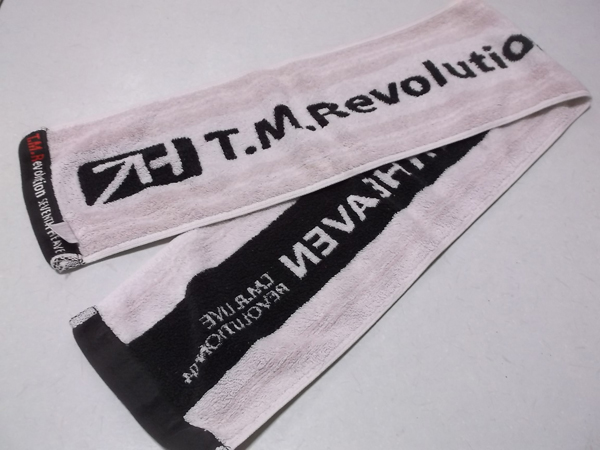 ▼ T.M.Revolution 西川貴教 ★ SEVENTH HEAVEN【 マフラータオル 】 ライブグッズの画像