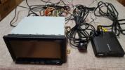 中古 Pioneer カロッツェリア 地デジAVIC ZH09CS フルセグ HDD Bluetooth ドライブレコーダー付き 日本製 アンテナ欠品