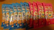アイクレオ バランスミルク 12.7g*5本 試供品 4袋 計20本 + フォローアップミルク スティックタイプ 13.6g*5本 試供品 7袋 計35本