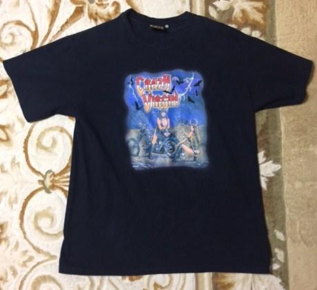 激レア PUFFY パフィー 10周年 CRAZY VIRGIN Tシャツ 黒 サイズL