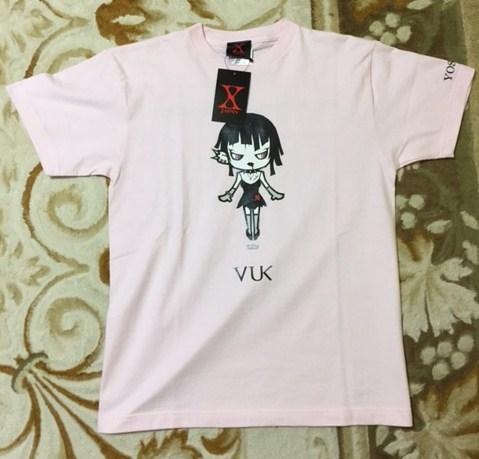 激レア X JAPAN YOSHIKI VK-Dollz Tシャツ ピンク サイズS 未使用品