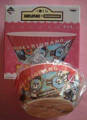 未使用 KRUNK × BIGBANG 一番くじ ボウル G-DRAGON TOP SOL D-LITE VI ジヨン タプ トップ テヤン ヨンベ でらいと テソン スンリ