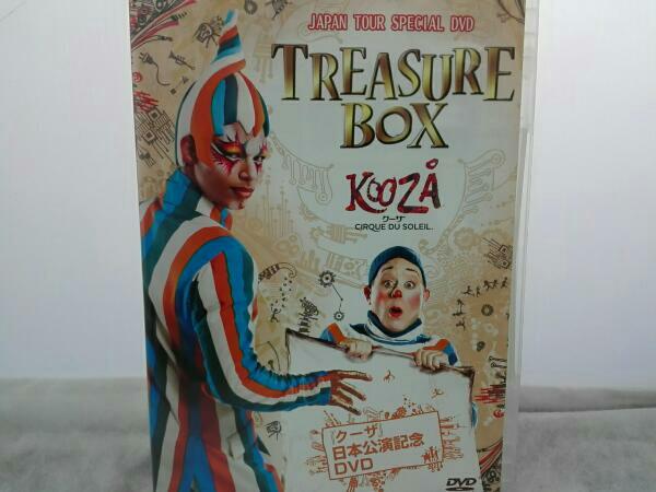クーザ/KOOZA/TREASURE BOX /JAPAN TOUR SPECIAL DVD ライブグッズの画像