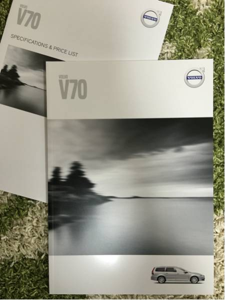 VOLVO V70 カタログ ボルボ V70 カタログ 2014年12月版 新品!