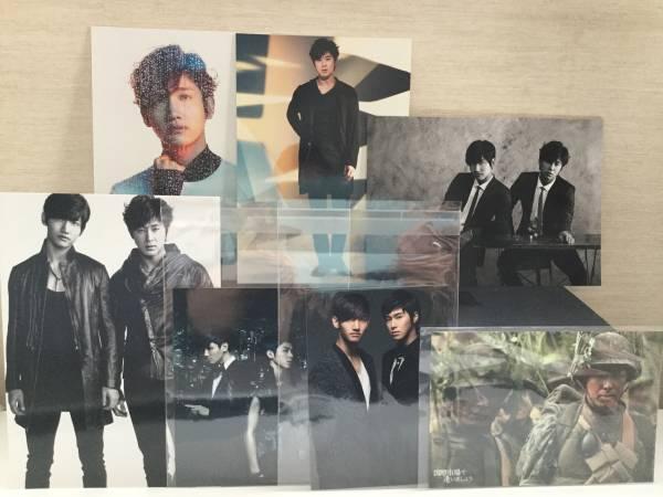 東方神起 TVXQ ポストカード(FRaU)国際市場で逢いましょう他写真