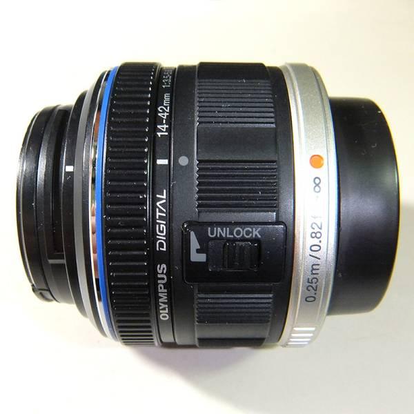 オリンパス M.ZUIKO DIGITAL 14-42mm 1:3.5-5.6 Ⅱ MSC マイクロフォーサーズ標準ズーム USED