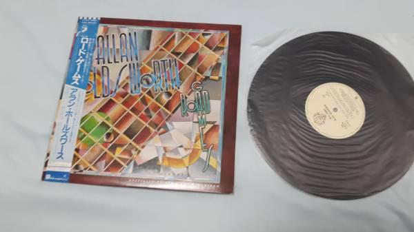 アラン・ホールズワース/ロード・ゲームス 帯付き レコード盤 追悼!_画像1