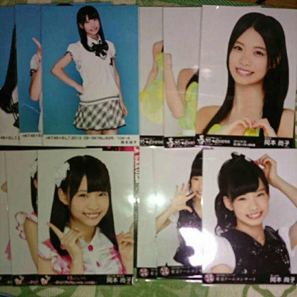HKT48 岡本尚子 42枚 ライブグッズの画像