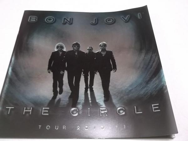 ▼ BON JOVI ★ ボン・ジョヴィ 【 2010-2011 ツアーパンフ THE CIRCLE 】