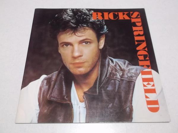 ▼ リック・スプリングフィールド ★ Rick Springfield 【 1983ツアーパンフ 】