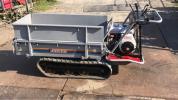 ◆ヤンマークローラー運搬車 MCG110F 手動ダンプ 積載400kg 状態良好 売れ切り 美品◆