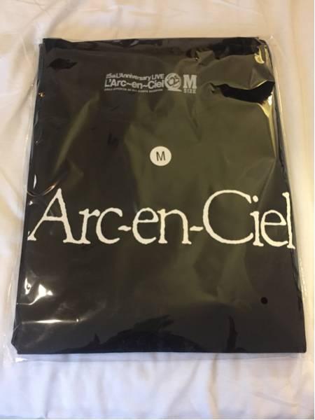 L'Arc~en~Ciel ラルク 25thライブ 会場限定Tシャツ Mサイズ ロゴTシャツ