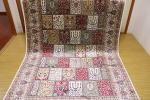 傢俱, 裝潢 - ペルシャ柄絨毯 150万ノット 新品未使用 160×230 アイボリー
