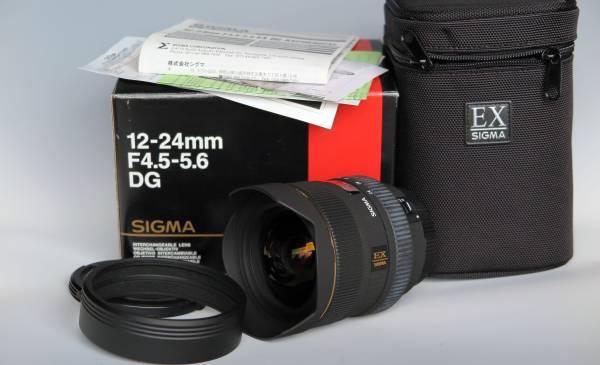 SIGMA 12-24mm F4.5-5.6 DG CANON用 中古