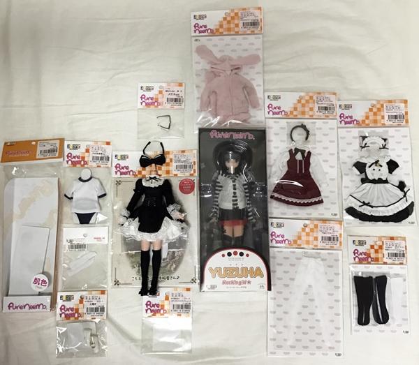 アゾン Rock'n girl☆/YUZUHA(ゆずは) +衣装セット+ピュアニーモボディ+ディスプレイケース